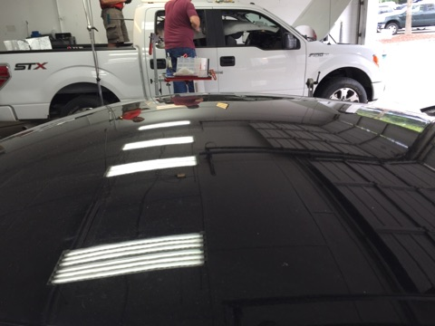 wilkes-barre paintless dent removal after photo