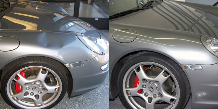 paintless dent repair porsche